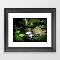 Stream Framed Art Print