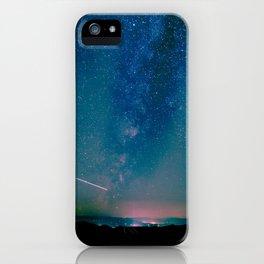Desert Summer Milky Way iPhone Case