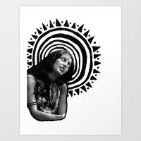 Hallucinojenny Art Print