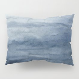 Indigo Abstract Painting | No.2 Pillow Sham