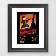 Tower of Darkness Framed Art Print
