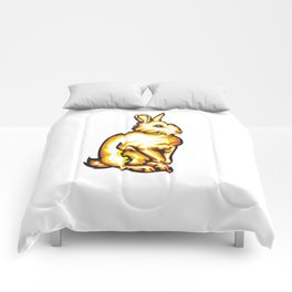 Angry Bunny Comforters