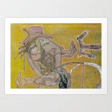the protector Art Print