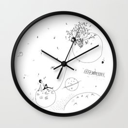 by the stars Wall Clock