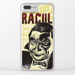 Bela Lugosi s Dracula Fan Art Clear iPhone Case