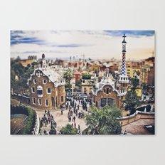 BARCELONA CATALUÑA Canvas Print