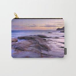 Purple Sunset At Vela Blanca Tower Carry-All Pouch