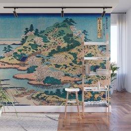Katsushika Hokusai - Sesshu Ajigawaguchi Tenposan Wall Mural