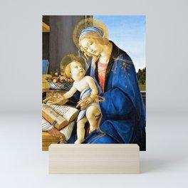 12,000pixel-500dpi - Sandro Botticelli - The Virgin And Child, The Madonna Of The Book Mini Art Print