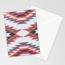 American Native Pattern No. 204 Stationery Cards