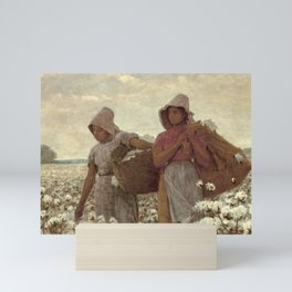 The Cotton Pickers by Winslow Homer, 1876 Mini Art Print