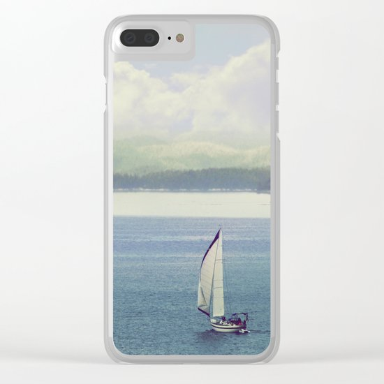 Sail Clear iPhone Case