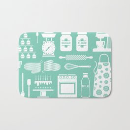 Baking Graphic Bath Mat