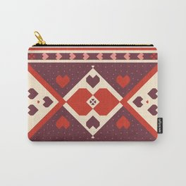 native tribal love Carry-All Pouch