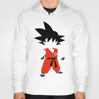 dragonball Hoodies featuring Goku by JHTY