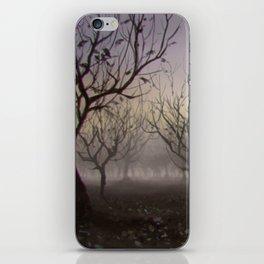 Speedpaint - Halloween Orchard iPhone Skin