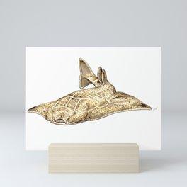 Angel shark Mini Art Print