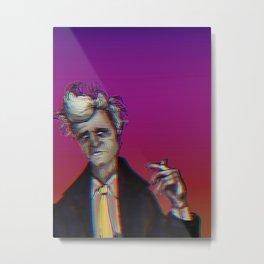 Dreamy Lynchian Whirls Metal Print