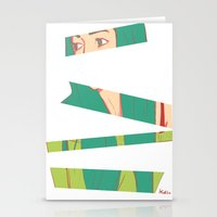 bambi Stationery Cards featuring Bambi by Katlix Design