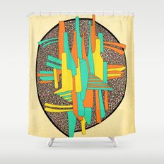 - cosmosigner_02 - Shower Curtain