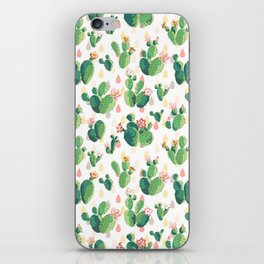 Cactus pattern iPhone Skin