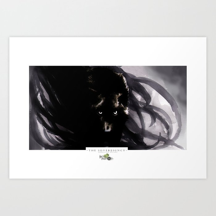 Out of the Dark Art Print