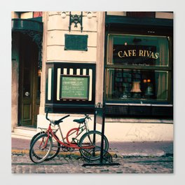 San Telmo Bikes Canvas Print