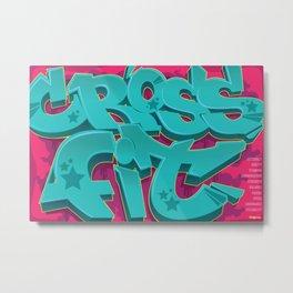 Crossfit Poster - Crossfit Metal Print