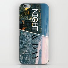 NIGHT & DAY iPhone & iPod Skin