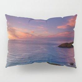 jacks bay sunset colorful panorama scene Pillow Sham