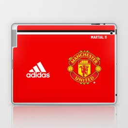 Martial Edition - Manchester United Home 2017/18 Laptop & iPad Skin