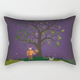 a midsummer night's seen Rectangular Pillow