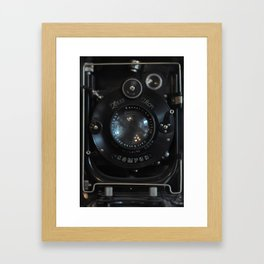 Old Camera (Zeiss Optik, Compur shutter) Framed Art Print