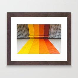 Montreal Subway | Métro de Montréal Villa Maria Framed Art Print