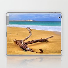 Island Beach Driftwood Laptop & iPad Skin