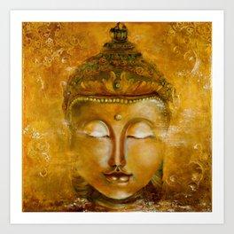 Buddha Art Art Print