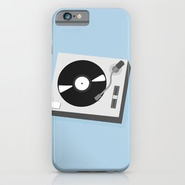 Turntable Illustration iPhone Case