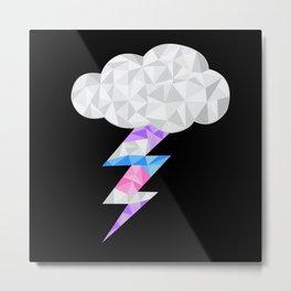 Intersex Storm Cloud Metal Print