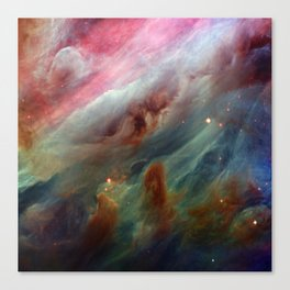 The Orion Gas Clouds Canvas Print