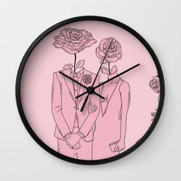 Wildest lovers digital art Wall Clock