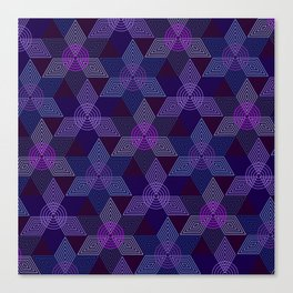 Op Art 100 Canvas Print