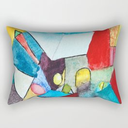 The Future Determines our Fate Rectangular Pillow