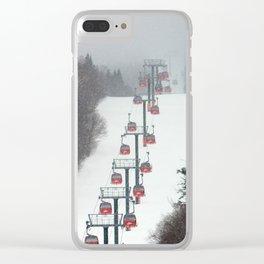 Gondolas Clear iPhone Case