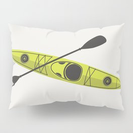 Kayak - Lime Green Pillow Sham