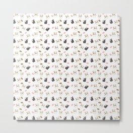 Hamsters and Macarons Metal Print