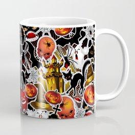 Halloween Spooky Cartoon Saga Coffee Mug