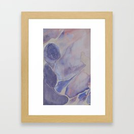 Watercolor Reflections Framed Art Print