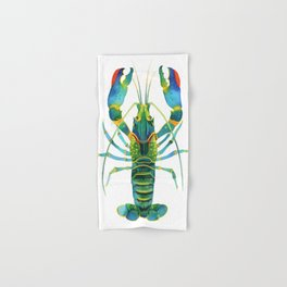 Red Claw Crayfish Lobster Hand & Bath Towel