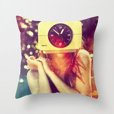 SEX ON TV - WAKE UP by ZZGLAM Throw Pillow