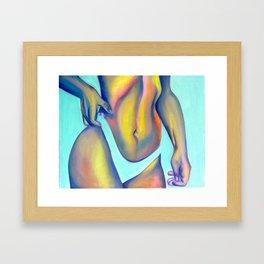 Lollipop skin Framed Art Print